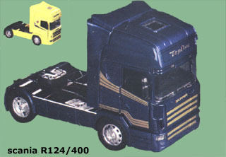 Original New Ray Scania R124/400