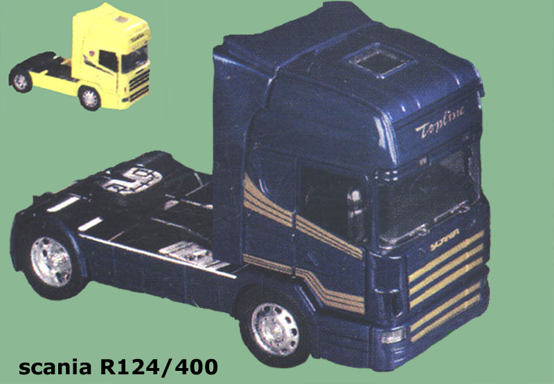 Original New Ray Scania 124/400 model