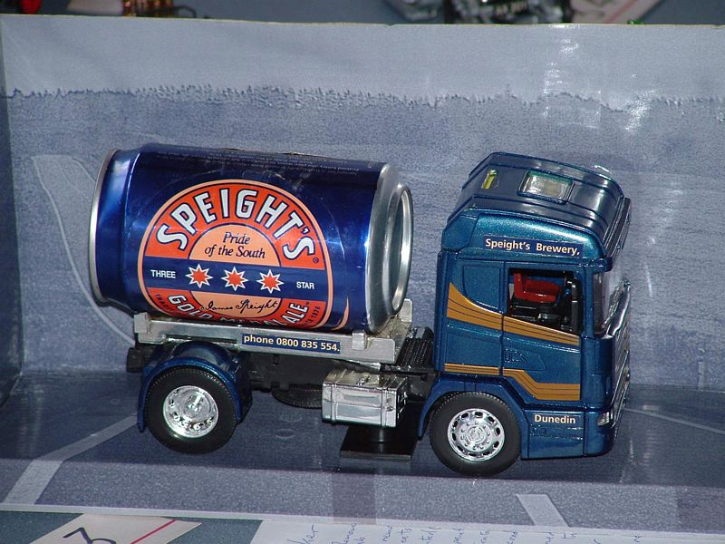 Modified New Ray Scania 124/400 model - Speights